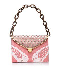 Maddie Pink Tie-dye Shoulder Bag | Womens Top Handles & Shoulder Bags. Tory Burch.