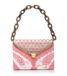Maddie Pink Tie-dye Shoulder Bag   Womens Top Handles  Shoulder Bags. Tory Burch.