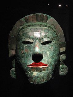 Campeche Museo Maya Mexico / Mascaron de Jade.