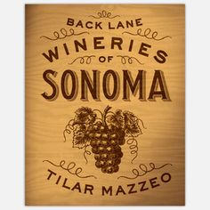 Back Lane Wineries of Sonoma now featured on Fab.