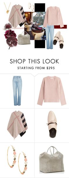 """""""Afternoon coffee"""" by namekristy ❤ liked on Polyvore featuring Sea, New York, Helmut Lang, Burberry, 3.1 Phillip Lim, Ippolita, AERIN and Abigail Ahern"""