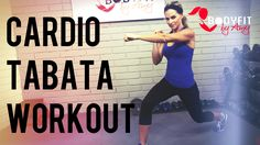 This 30 minute workout uses tabata intervals to get a high intensity cardio workout that works your full body. Both low impact and high impact options availa...