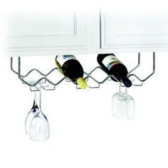 Under Counter Wine/stemware Holder