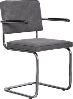 Ridge vintage mediocre grey armchair