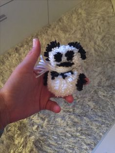 Pompon - Pandabär
