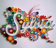 Quilled Names
