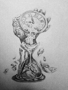 Hand + watch of the past by HaveInk on DeviantArt - Another time idea Effective pictures we provide you about diy face mask A high-quality image can - Hour Glass Tattoo Design, Clock Tattoo Design, Tree Tattoo Designs, Tattoo Design Drawings, Tattoo Sleeve Designs, Tattoo Sketches, Watch Tattoos, Time Tattoos, Leg Tattoos