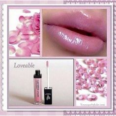 The perfect Valentine's Day #lipgloss! #loveable #pink