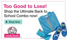 The Ultimate Back To School Combo pack from Mabel's Labels is a lifesaver! #BackToSchool http://momalwaysfindsout.com/2013/08/labels-for-kids-school-supplies/