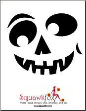 8 Pumpkin Stencils: Scary Printable Pumpkin Faces (and Marilyn Monroe)