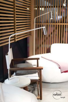 Kiddi Outdoor Table Lamp And Kiddi XL Outdoor Floor Lamp White Lacquered |  Designer William Pianta