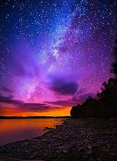 The only thing in this world that makes me feel truly at peace is a clear night sky.