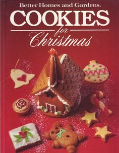 Better Homes and Gardens Cookies for Christmas. You can order with confidence from Hometown-USA. We are retired booksellers with 20+ years as dealers of new, used and collectible books; music; and video. Items are accurately and honestly described. Your order will be carefully packaged and shipped promptly from Missouri.. Price: $9.95