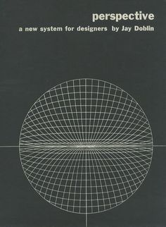 perspective a new system for designers Jay Doblin 1956年  Whitney Publications  1冊  初版 英文 ¥10,000