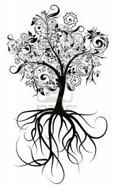 think I found my next tattoo. but in the roots I want the words within it- love faith family friends prayer strength happy believe