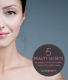 5 Beauty Hacks Tips & Tricks For Maintaining Perfect Skin | Natural beauty tips, makeup tips, and how to be beautiful at You're So Pretty | #youresopretty | youresopretty.com