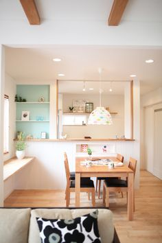 北欧ナチュラルなお家 Kitchen Room Design, Home Room Design, Home Interior Design, Kitchen Decor, Minimalist House Design, Minimalist Room, Korean Apartment Interior, Minimalist Home Furniture, Muji Home