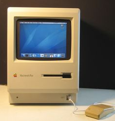 The first MacIntosh.