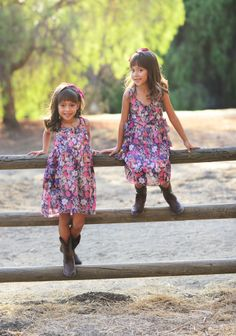 Cowboy boots, Sisters, Twins, Kid, Love.