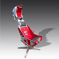 A Martin-Baker ejector seat. Can you get much cooler than this? #GamesRoomCompany #Decor
