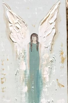 Angel Painting - All For Hair Color Trending Angel Wings Art, Angel Wings Painting, Angel Drawing, Angel Art, Angel Paintings, Texture Painting On Canvas, Acrylic Painting Canvas, Canvas Art, Angel Pictures