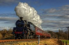 Steam train HDR | Flickr - Photo Sharing!