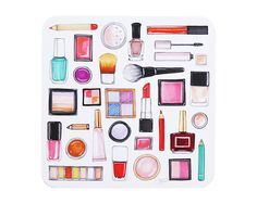 All your favorite beauty illustrations printed on 28 pt. uncoated double thick…