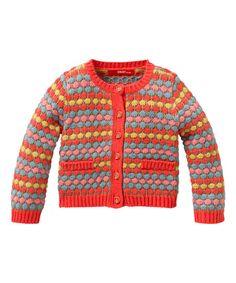 Red & Orange Katje Cardigan - Infant, Toddler & Girls