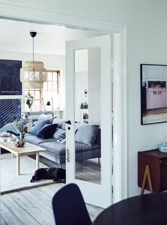 A White, Bright Living And Dining Space. Skandinavisch, Einrichten Und  Wohnen, Ikea
