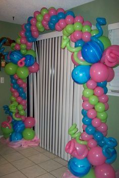 Decoración de globos