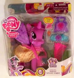 My Little Pony Fashion Style Princess Twilight Sparkle Doll My Little Pony Collection, Princess Twilight Sparkle, Crystal Fashion, My Little Pony Friendship, Mlp, Dolls, Crystals, Style, Baby Dolls
