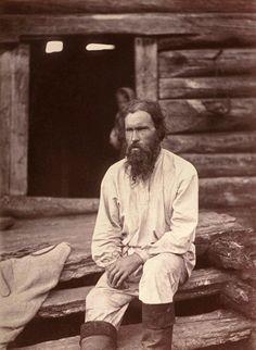 Карелы. Беломорская Карелия, 1894 г. Фотограф Инто Конрад Инха