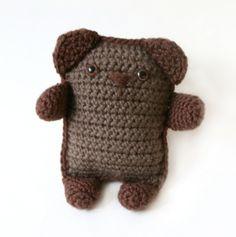 Crochet Amigurumi Bear (free pattern)