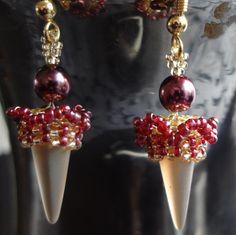 Spike earrings 2