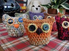 crochet owlies!