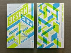 AIGA Minnesota Design Show, interactive poster by Charles Youel #graphicDesign