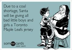 Free, Christmas Season Ecard: Due to a coal shortage, Santa will be giving…