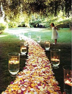 Wedding Flowers Country Garden Style  This is the road to your happy marriage!