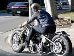 Not really fan of Brad Pitt, but his bike rocks