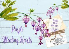 My Big Purple Flower Bundle by Linda K. Design on @creativemarket