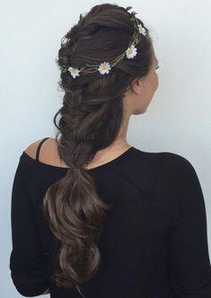 French Braids #CrochetBraids Side Hairstyles, Braided Hairstyles, Sleeping With Wet Hair, Luxy Hair Extensions, Thick Hair Styles Medium, Fancy Braids, Hair Hacks, Hair Tips, Hair Designs