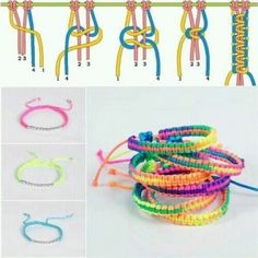 A braided friendship bracelet is a perfect gift to show love to your close friends. In this diy jewelry tutorial, you will learn how to braid a knotted bracelet. Diy Bracelets Easy, Bracelet Crafts, Braided Bracelets, Macrame Bracelets, Jewelry Crafts, Knotted Bracelet, Gimp Bracelets, Macrame Bracelet Tutorial, Making Bracelets
