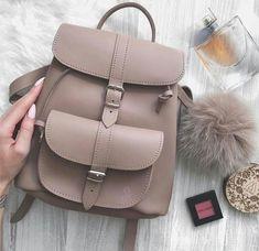 Blush pink backpack