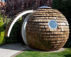 Archipod: The Pine Cone-Inspired Pod Home - Photo - TechEBlog