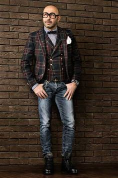 lerario_pino_FC_8127 lerario_pino_FC_8127 Mens Fashion Blazer, Suit Fashion, Laid Back Style, My Style, Ralph Laurent, Streetwear Men, Elegant Man, Tweed Coat, Dapper Men