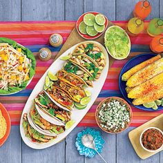 All you.com Taco fiesta spread