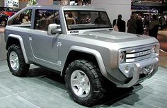 2017 Ford Bronco to Come Equipped with High-Tech Features and Ideal for Off-Road Use