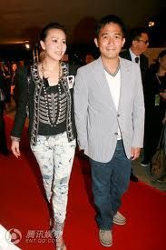 Tony Leung & Carina Lau, celeb iconic couple from HK. Tony Leung - Hong Kong actor and C popstar - Chinese male celebrities 梁朝偉