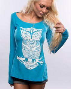 Blue Owl Long-Sleeve!