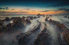 Amazing one by gsantosphoto #landscape #contratahotel (o) http://ift.tt/1Qfhtfx de Barrika Euskadi #euskadigrafias #paisvasco #españa #spain #beach #playa #rock #rocks #sea #ocean  #cantabrico #paisajes #paisaje #barrika #sunset #atardecer #worldcaptures #longexposure #mar #oceano #waves #olas #leonesp #leon #getxo #bilbao #euskadi